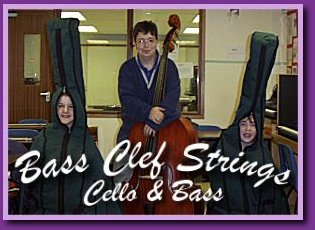 Bass Clef Strings - Cello & Double Bass